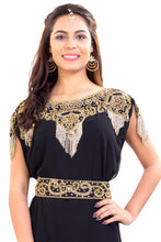 Load image into Gallery viewer, Crystal Beaded Ladies Palestinian Kaftan Designer Iranian Boho