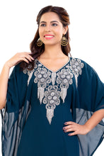 Load image into Gallery viewer, Jasmine Designer Dubai Farasha Traditional Persian Kaftan Boho Maxi