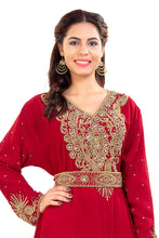 Load image into Gallery viewer, Traditional Persian Kaftan Hand Embroidered Kurdish Dress