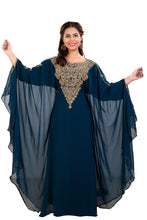 Load image into Gallery viewer, Traditional Khaleeji Thobe Hand Embroidered Customized Dubai Kaftan