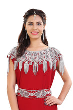 Load image into Gallery viewer, French Soiree Robe Hand Embroidered Fashionable Dubai Fustan