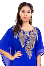 Load image into Gallery viewer, Haute Coutre Designer Abaya Hand Embroidered Dubai Kaftan