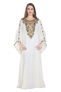 Jasmine Designer Kurdish Dress French Soiree Robe Maxi
