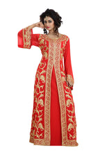 Load image into Gallery viewer, ORIENTAL FRENCH BRIDAL TAKCHITA DRESS
