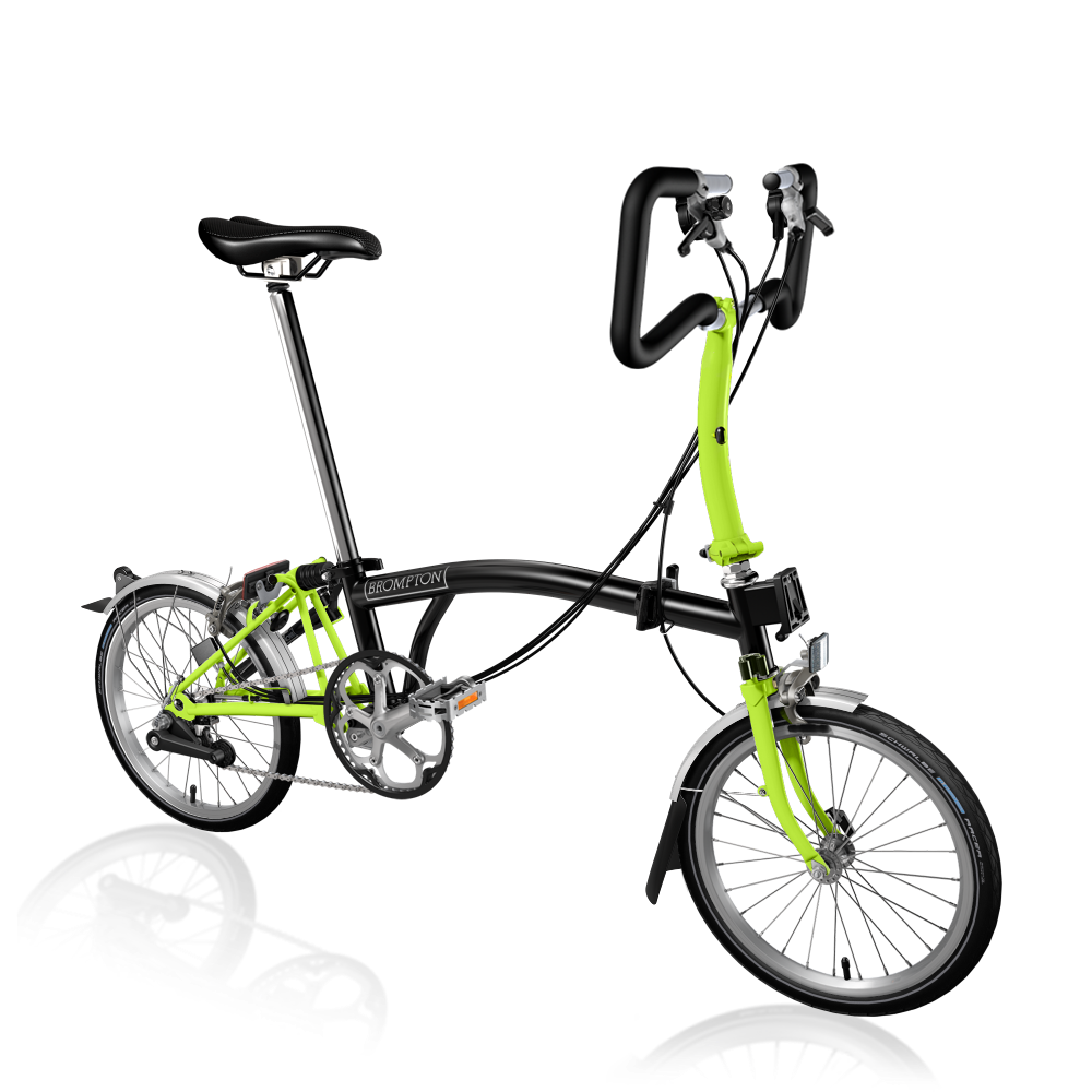 2017 P6 Black and Lime Green