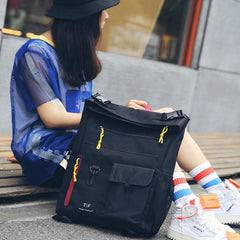 Color-Pop Canvas Backpack