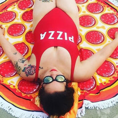 Pizza One-Piece Swimsuit