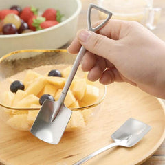 Retro Stainless Steel Shovel Spoons