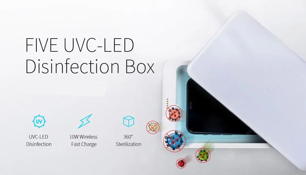 UV Phone Sterilization Box