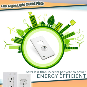 LED Night Light Outlet Plate