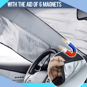 Magnetic Windshield Protective Cover