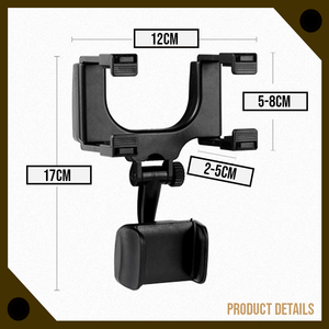 Mighty Rearview Mirror Phone Mount
