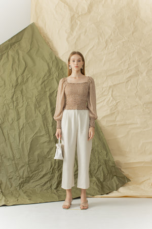 Load image into Gallery viewer, Eunsoo Top in Khaki