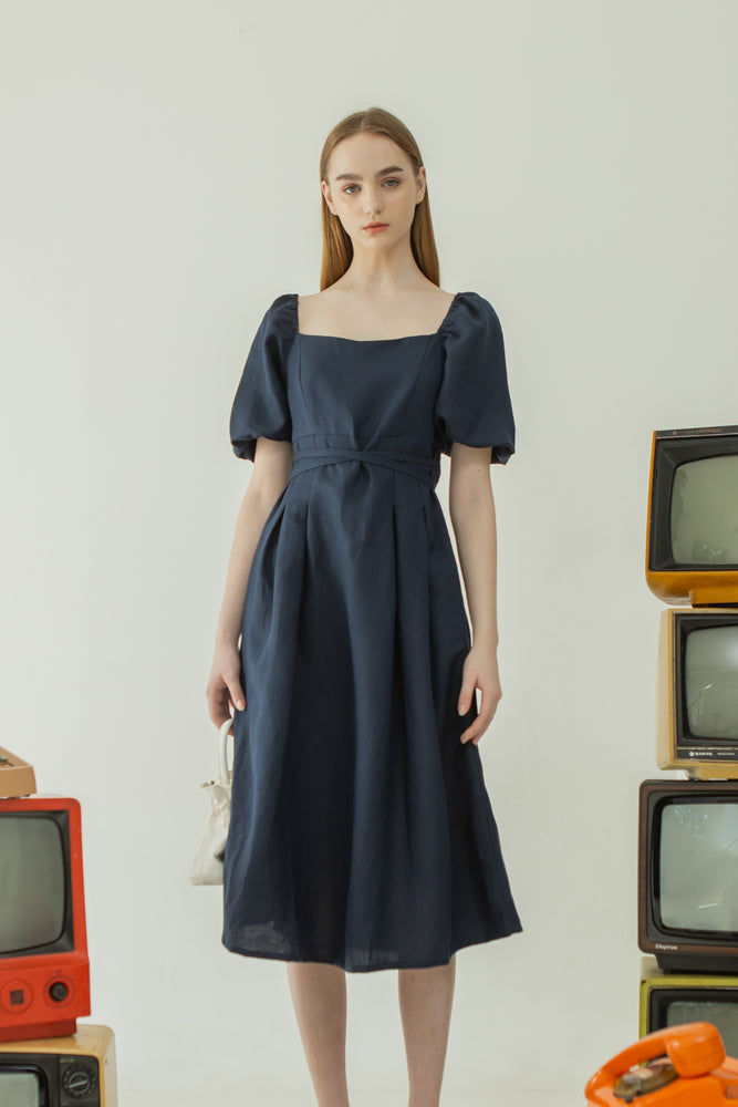 Gain Dress in Dark Navy