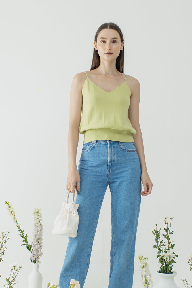 Hannam Top in Lime