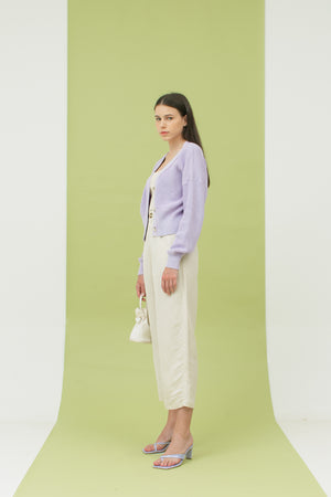 Hayi Cardigan in Lilac READY 5th of April