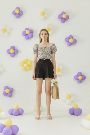 Load image into Gallery viewer, Hyojin Top in Daisy Print READY 23th NOV