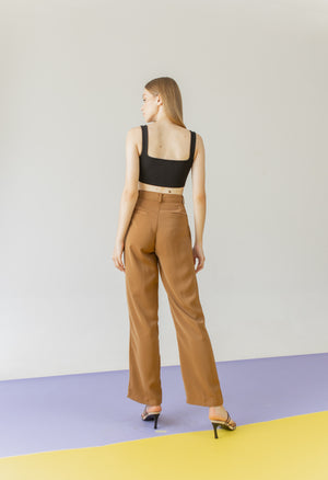 Load image into Gallery viewer, Estelle Pants in Brown