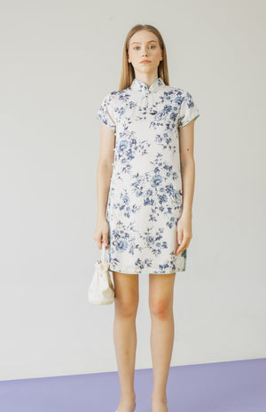 Load image into Gallery viewer, Astrid Dress in Blue
