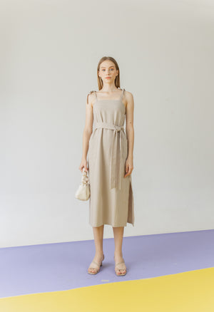 Abigail Dress in Khaki