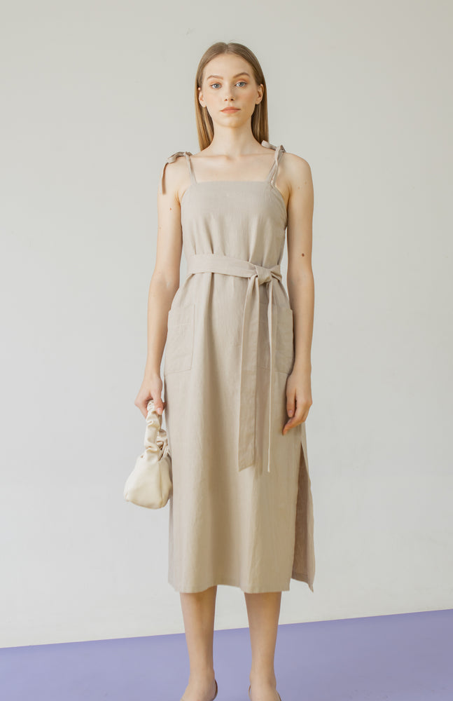 Load image into Gallery viewer, Abigail Dress in Khaki