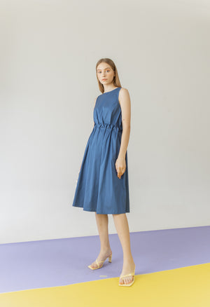 Load image into Gallery viewer, Elodie Dress in Blue
