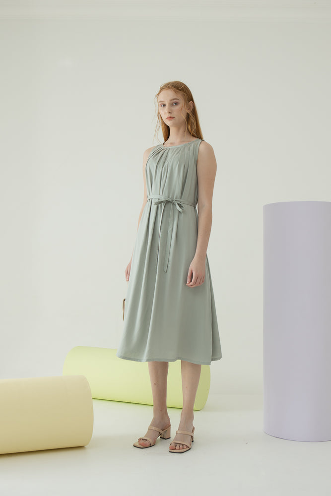 Pippa Dress in Sage Green