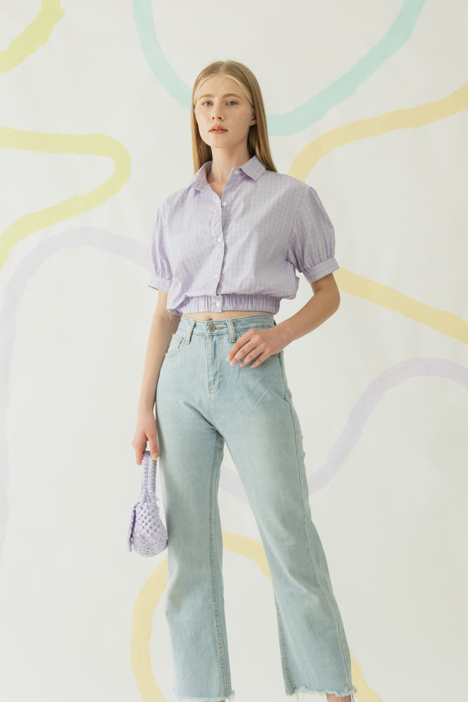 Yebin Shirt in Lilac