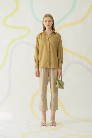 Load image into Gallery viewer, Hyo Shirt in Olive