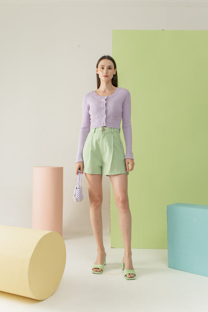 Jiwon Top in Lilac READY 19th Apr