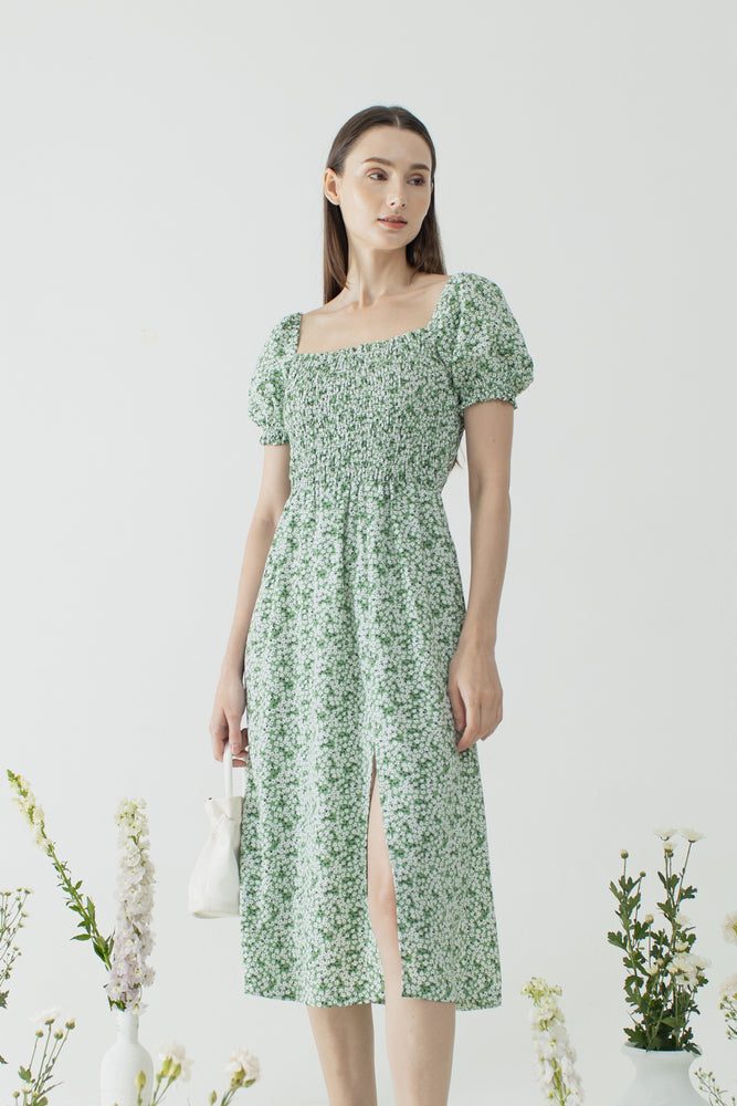 Jooeun Dress in Green READY 15th Dec
