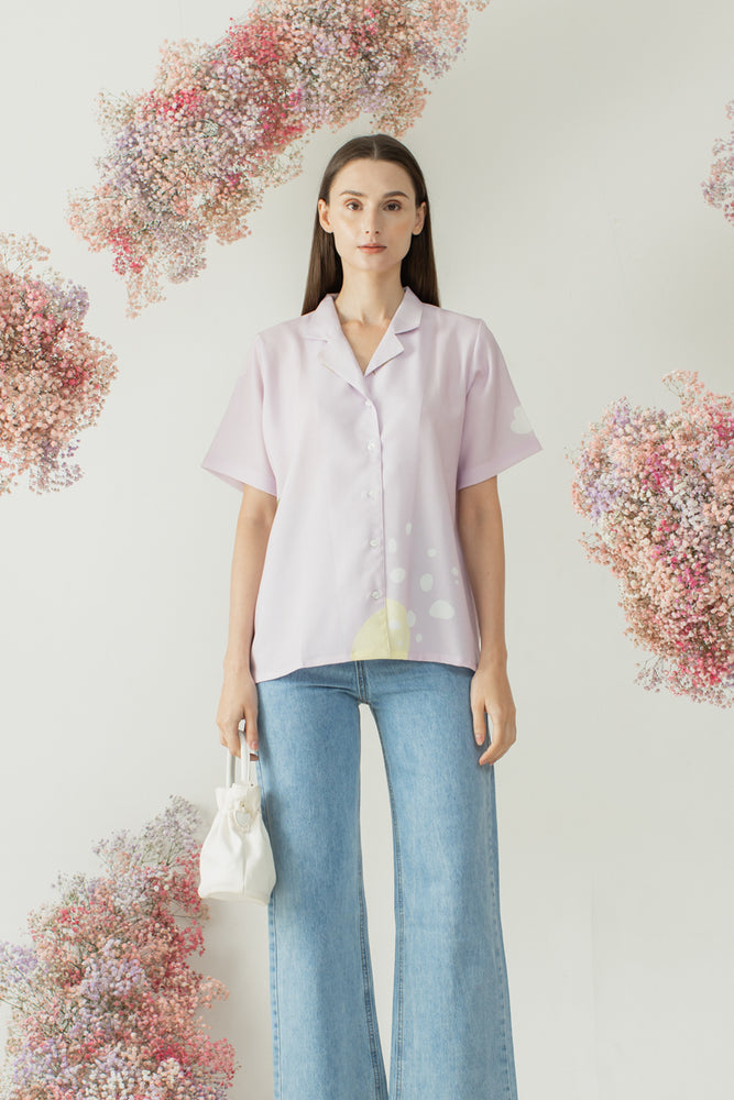 Mido Shirt in Lilac