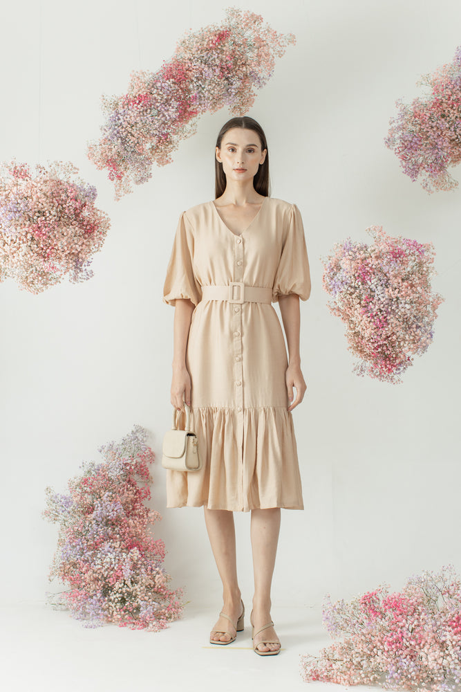 Load image into Gallery viewer, Mirae Dress in Blush