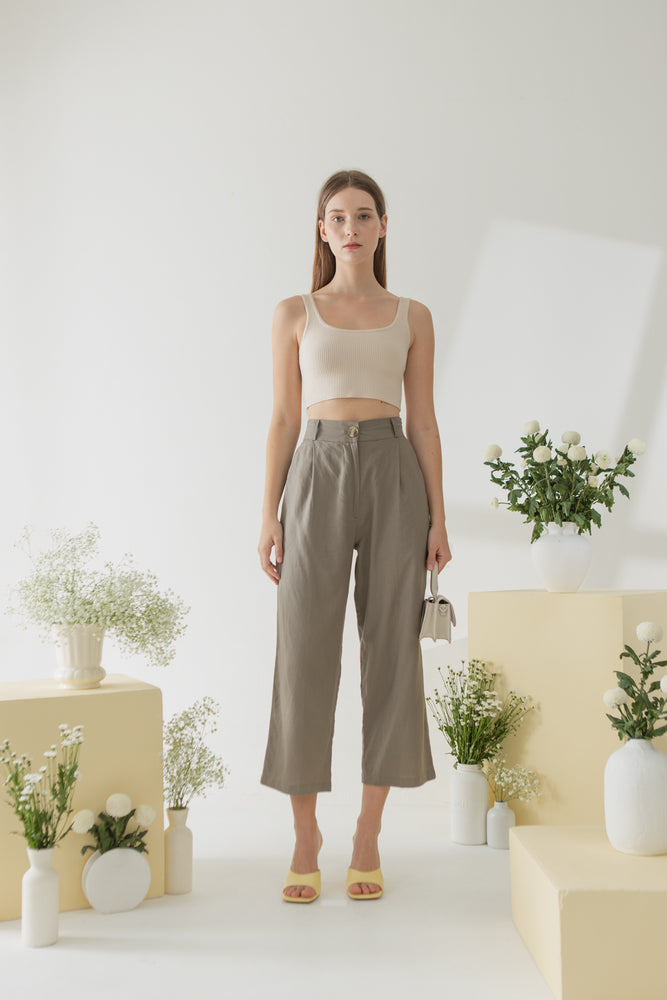 Pyo Pants in Taupe