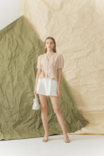 Saha Top in Cream Sand