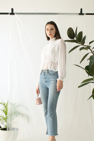 Seri Top in White