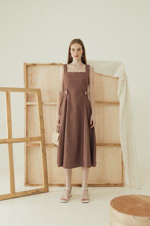 Load image into Gallery viewer, Simone Dress in Maroon