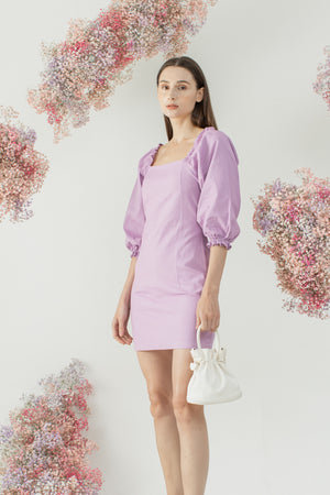 Sohee Dress in Purple