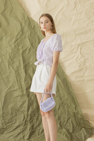 Sole Top in Lilac