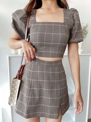 Sunmi Set in Checkered