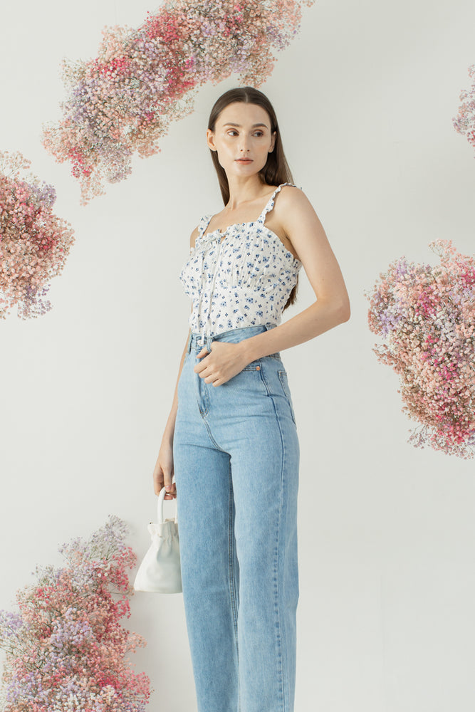 Thama Top in Floral