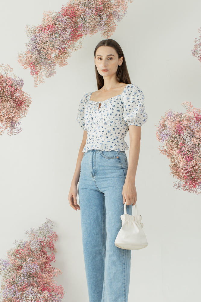Woori Top in Floral