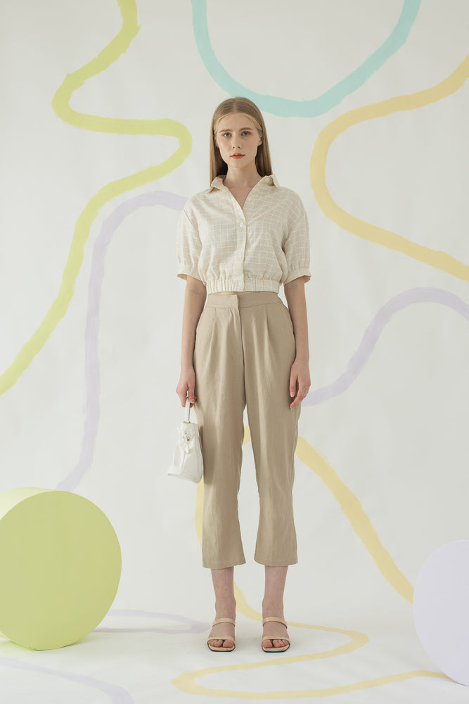 Load image into Gallery viewer, Nari Pants In Khaki
