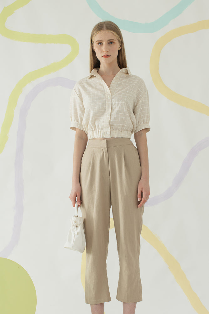 Yebin Shirt In Khaki