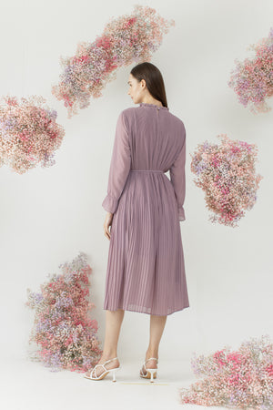 Yejin Dress in Purple
