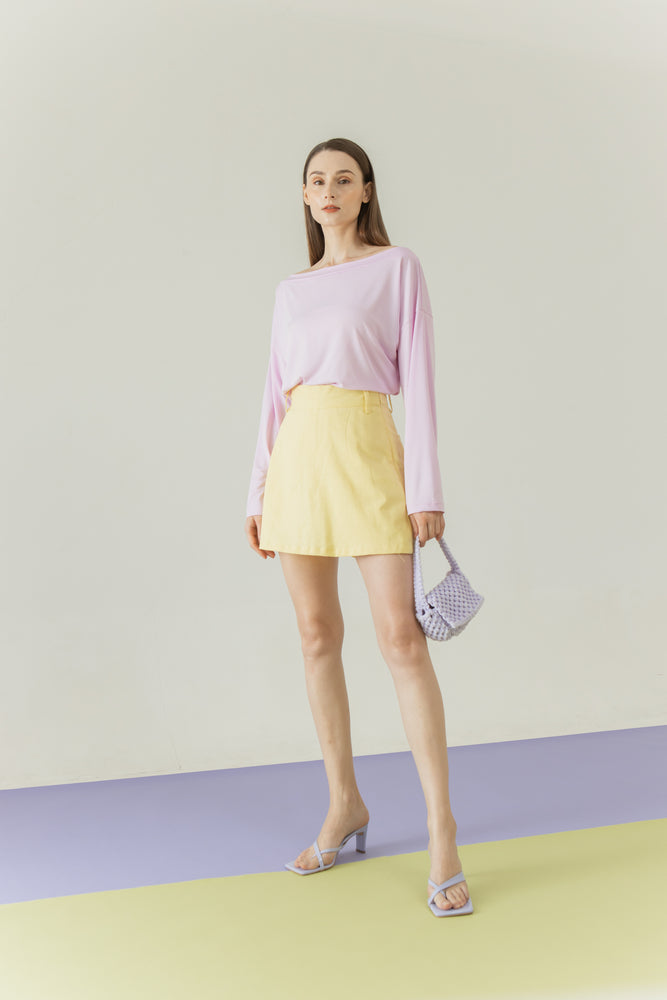 Yoora Top in Lilac