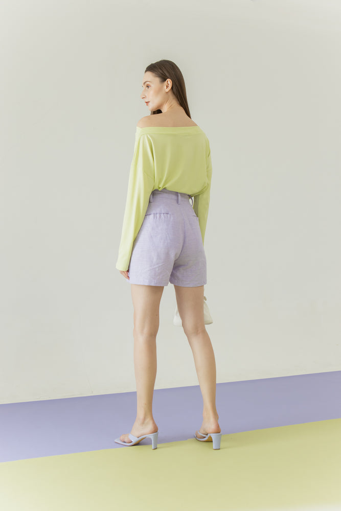 Yoora Top in Lime