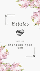 Babaloo Jewelry Gift Card