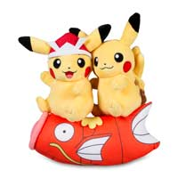 Paired Pikachu Celebrations: Children's Day Pikachu Poké Plush - 10 In.