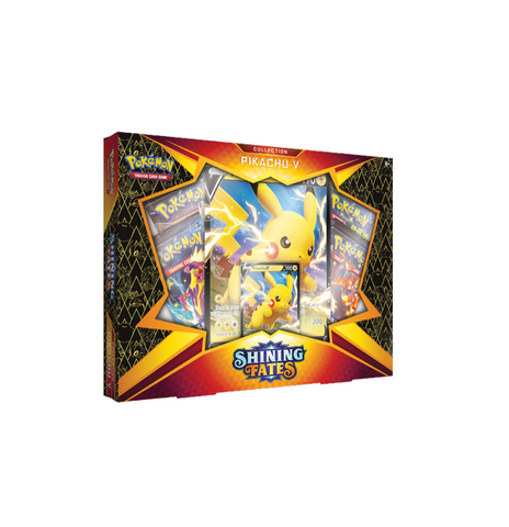 Shining Fates Collection - Pikachu V (Pre-order for in-store pick up only)